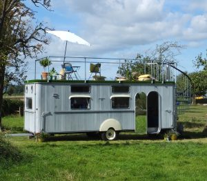 New The Second And Newest Addition To The Glamping Orchard Is The Spectacular Fully Restored 1950s Warwick Knight Caravan Believed To Be One Of Only Three Left In The World, This Rolls Royce Of Caravans Was No Knight In Shining